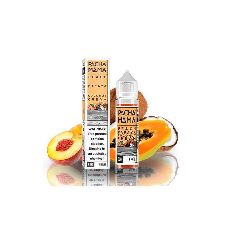 Pachamama Peach Papaya Coconut Cream 50ml 00mg