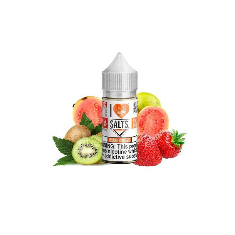 Mad Hatter I Love Salts Island Squeeze 10ml 20mg