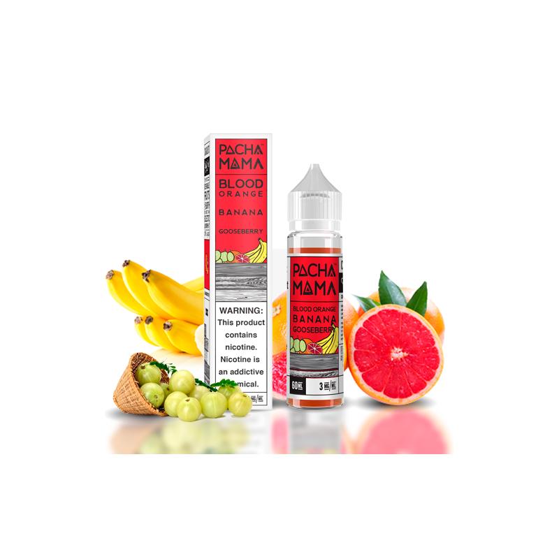 Pachamama Blood Orange Banana Gooseberry 50ml 00mg